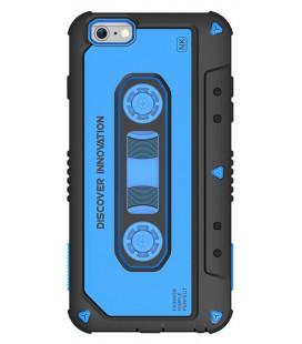 Θήκη Hard TPU Nillkin Odd-Type για Apple iPhone 6 Plus/6S Plus Μαύρο - Μπλέ