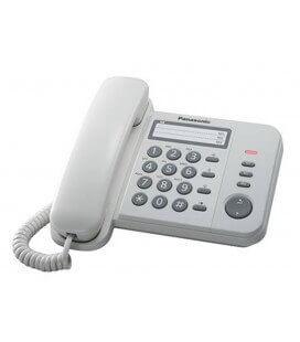 Σταθερό Ψηφιακό Τηλέφωνο Panasonic KX-TS520EX2W Λευκό