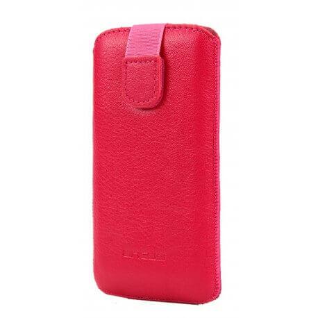 Θήκη Protect Ancus για Apple iPhone 5/5S/5C Δέρμα Ρόζ