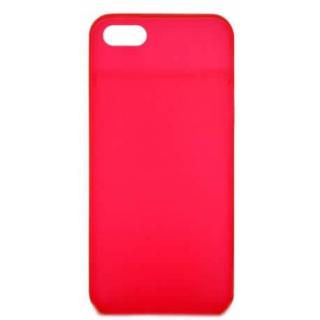 Θήκη Ultra Thin Ancus για Apple iPhone 5/5S Κόκκινο 0.35mm.