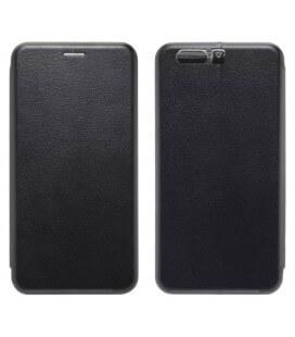 Θήκη Book Ancus Magnetic Curve για Huawei P10 Plus TPU Μαύρη