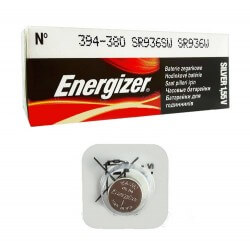 Buttoncell Energizer 394-380 SR936SW SR936W Τεμ. 1
