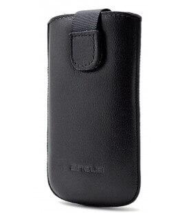 Θήκη Protect Ancus για Samsung i8190 Galaxy S3 Mini ( S III Mini ) Δέρμα Μαύρη