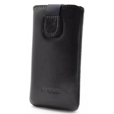 Θήκη Protect Ancus για Samsung i9100 Galaxy S II Δέρμα Μαύρη
