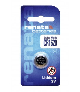 Buttoncell Lithium Electronics Renata CR1620 Τεμ. 1