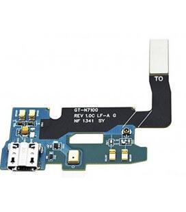 Καλώδιο Πλακέ Samsung N7100 Galaxy Note II  με Επαφή Φόρτισης και Μικρόφωνο Original GH59-12628A, GH96-06173A