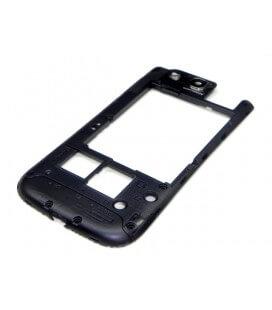 Πίσω Κάλυμμα Samsung i9305 Galaxy S3 ( S III ) LTE Μαύρο Original GH98-24473B