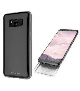 Θήκη Faceplate Goospery The Hidden Card για Samsung SM-G950F Galaxy S8 Μαύρη-Διάφανη by Mercury