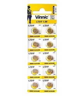Buttoncell Vinnic LR721F AG11 Τεμ. 10