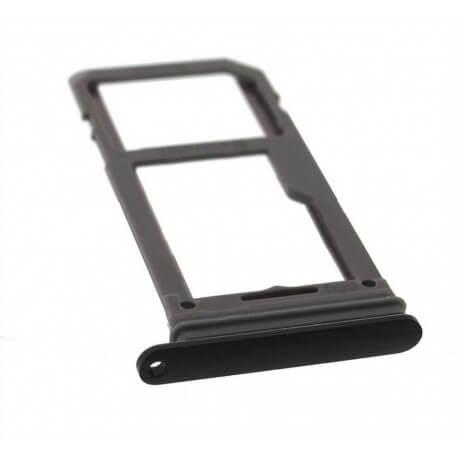 Βάση Κάρτας Sim Samsung SM-G955F Galaxy S8+ Μαύρο Original GH98-41557A