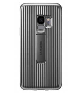 Θήκη Faceplate Samsung Protective Standing Cover EF-RG960CSEGWW για SM-G960 Galaxy S9 Ασημί
