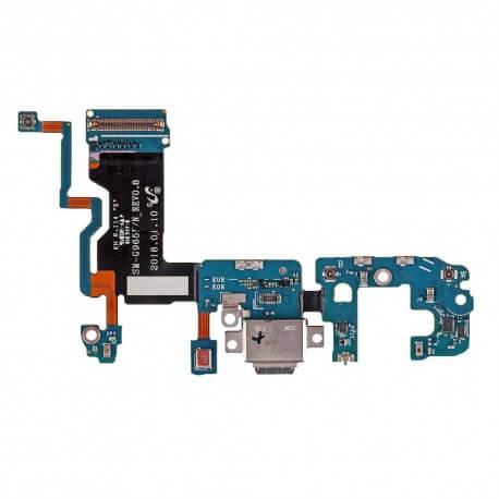 Καλώδιο Πλακέ Samsung SM-G965F Galaxy S9+ με Επαφή Φόρτισης, USB Type-C και Μικρόφωνο Original GH97-21682A
