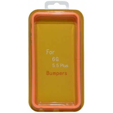 Θήκη Bumper Ancus για Apple iPhone 6 Plus/6S Plus Πορτοκαλί