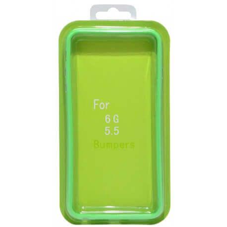 Θήκη Bumper Ancus για Apple iPhone 6 Plus/6S Plus Πράσινη