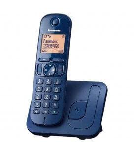 Ασύρματο Ψηφιακό Τηλέφωνο Panasonic KX-TGC210 Μπλε με Ανοιχτή Ακρόαση, Φραγή ενοχλητικών Κλήσεων και Λειτουργία Eco