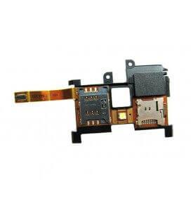 Σέτ Επαφών Sim με Αναγνώστη Κάρτας Μνήμης Sony Ericsson Xperia X10 με Καλώδιο Πλακέ και Buzzer Original Swap