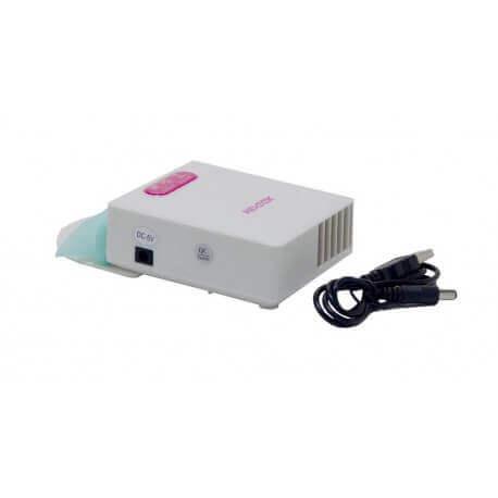 "Laptop Cooler Mobilis Portable Λευκό για Φορητούς Υπολογιστές έως 15"""