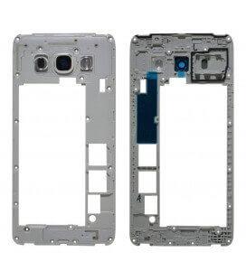 Μεσαίο Πλαίσιο Samsung SM-J510F Galaxy J5 (2016) Λευκό με Τζαμάκι Κάμερας Original GH98-39490C