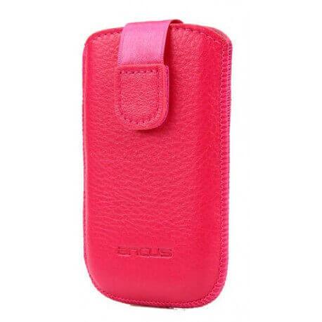 Θήκη Protect Ancus για HTC Wildfire Δέρμα Ρόζ