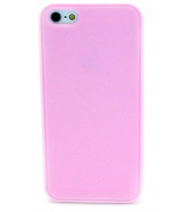Θήκη Σιλικόνης Ancus για Apple iPhone 5/5S Ρόζ