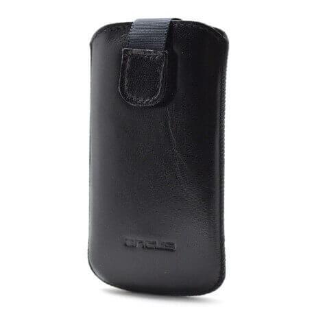 Θήκη Protect Ancus για Nokia Lumia 610 Δέρμα Μαύρη