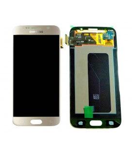 Γνήσια Οθόνη & Μηχανισμός Αφής Samsung SM-G920F Galaxy S6 με Κόλλα Χρυσαφί GH97-17260C