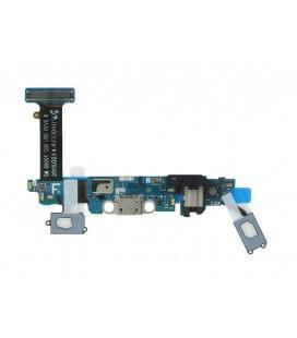 Καλώδιο Πλακέ Samsung SM-G920F Galaxy S6 με Επαφή Φόρτ, Μικρόφ, Πλήκ Αφής και Κεντ Πλήκ Μπλέ - Χρυσαφί Original GH96-08275B