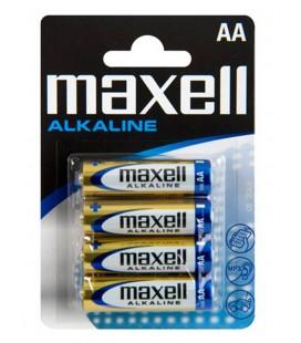 Μπαταρία Αλκαλική Maxell LR6 size AA 1.5 V Τεμ. 4