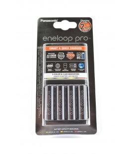 Φορτιστής Μπαταριών Panasonic Eneloop Pro BQ-CC55E Smart & Quick για AA/AAA