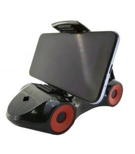 Βάση Στήριξης Αυτοκινήτου 360° Universal Car Μαύρο για Smartphone 3'' έως 6'' Ίντσες