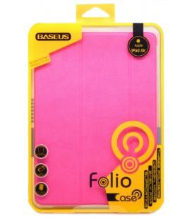 Θήκη Smart Baseus Folio για Apple iPad Air Ρόζ