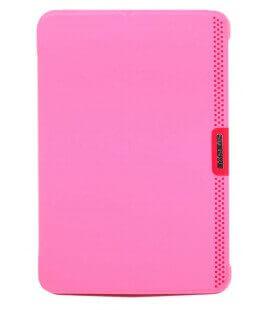 Θήκη Smart Baseus Nappa Ultra-Thin για Apple iPad Mini/Mini 2 Ρόζ Δερμάτινη