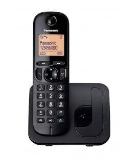 Ασύρματο Ψηφιακό Τηλέφωνο Panasonic KX-TGC210GRB Μαύρο με Ανοιχτή Ακρόαση, Φραγή ενοχλητικών Κλήσεων και Λειτουργία Eco